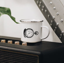 Load image into Gallery viewer, Pocket Watch Enamel Mug