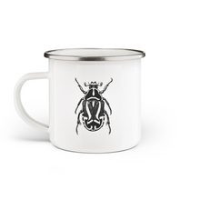 Load image into Gallery viewer, Pyrrhocoris Enamel Mug