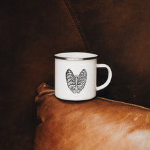 Load image into Gallery viewer, Rib Cage Enamel Mug