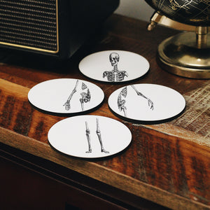 Skeleton Coasters Set