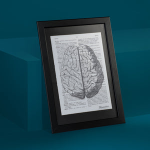 Brain Framed Art Print