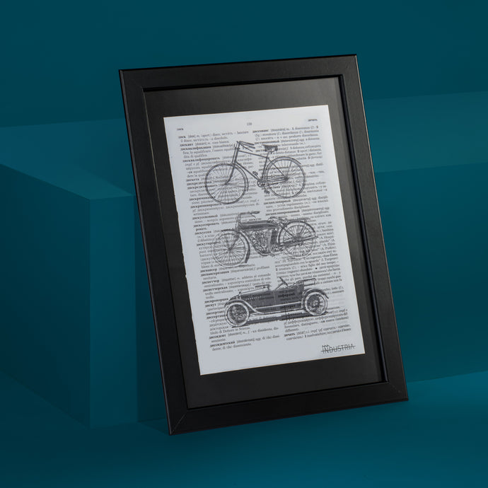Old Transport Framed Art Print