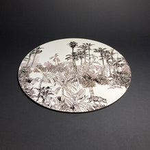 Load image into Gallery viewer, Toile de Jouy Sauvage Noir Place Mat
