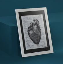 Load image into Gallery viewer, Heart Framed Art Print