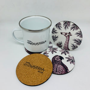Wild Animals Coasters Set