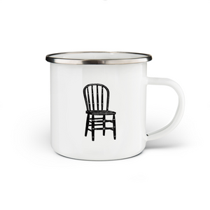 Chair Enamel Mug