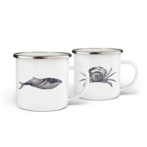 Deep Blue Mugs Set