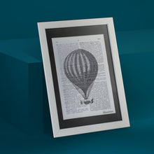 Load image into Gallery viewer, Balloon Framed Art Print
