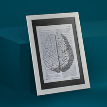 Load image into Gallery viewer, Brain Framed Art Print