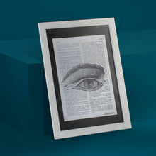 Load image into Gallery viewer, Eye Framed Art Print
