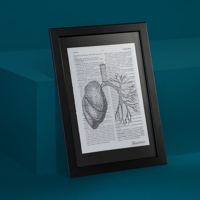 Lung Framed Art Print