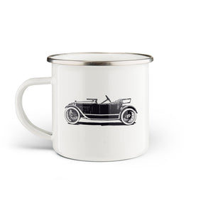 Automobile Enamel Mug