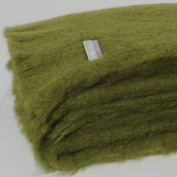 Mohair Throw Fern