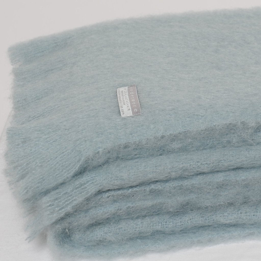 Mohair Throw Glacier 15% OFF