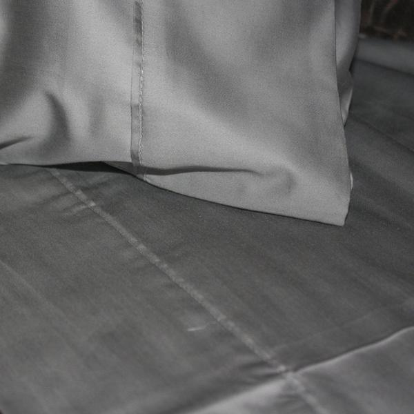 Casablanca Sheet Set Iron Grey 500TC