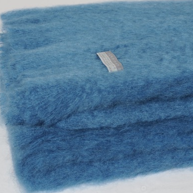 Mohair Throw Lake - 15% OFF!