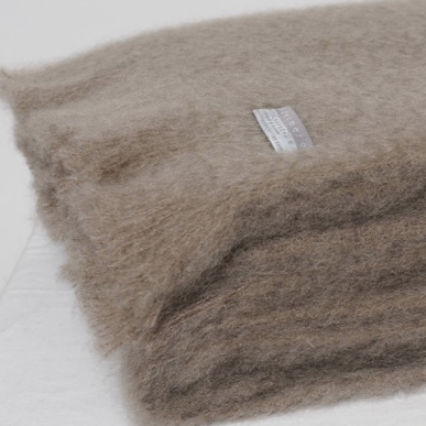 Mohair Throw Manuka - 15% OFF!