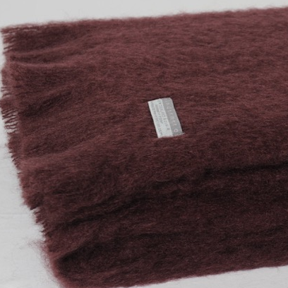 Mohair Throw Mulberry - 15% OFF!