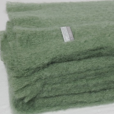 Mohair Throw Olive - 15% OFF!