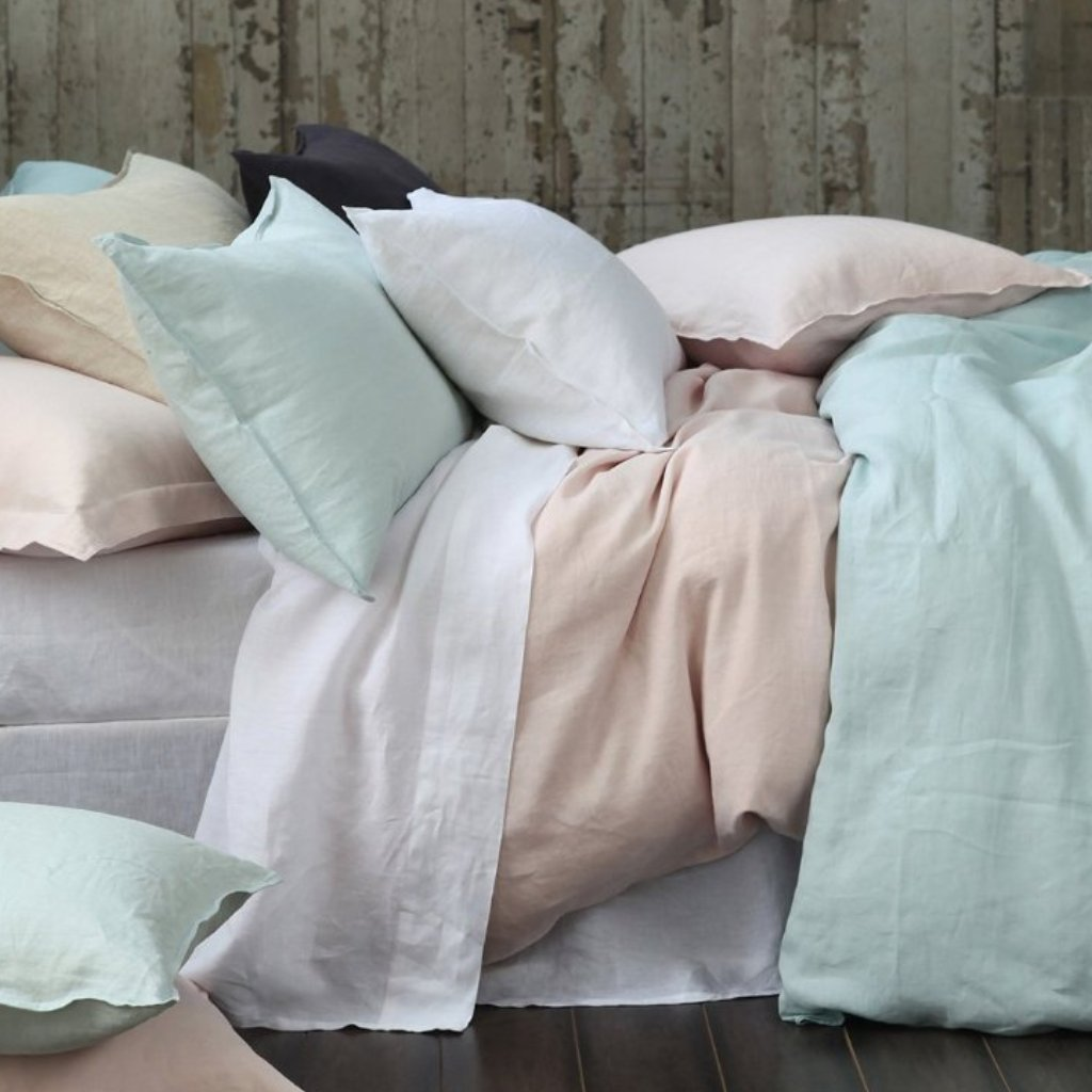 Laundered Linen Sheet Set