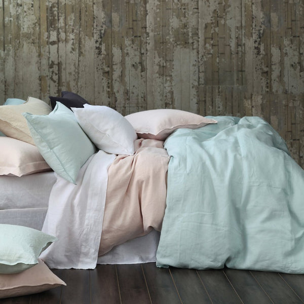 Laundered Linen Duvet Set