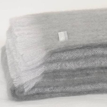 Mohair Throw Pewter - 15% OFF!