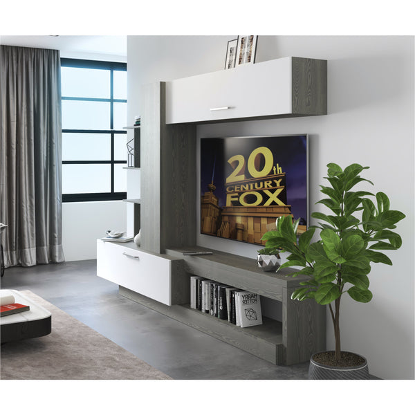 Leo TV Wall Unit Entertainment Center