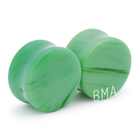 sweet mint glass plugs