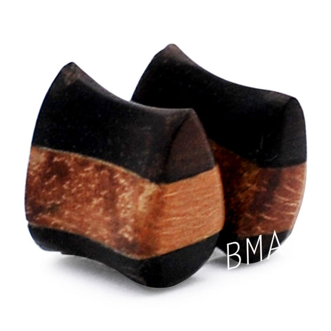 jaya wood teardrop plugs