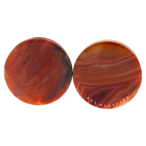 red agate plugs