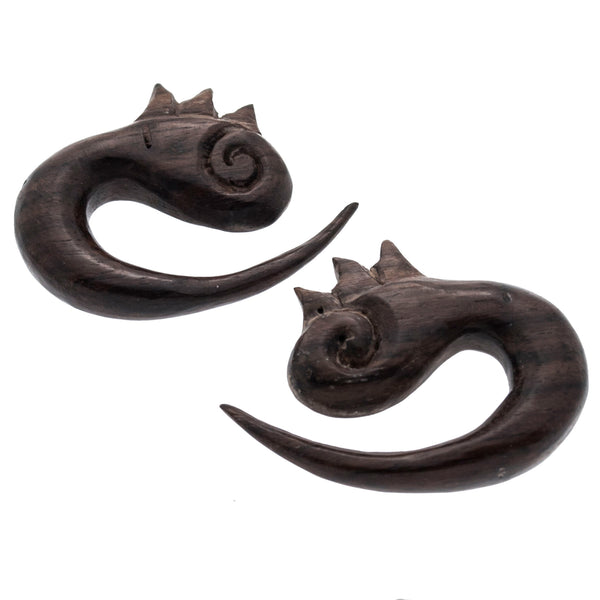 Eni Wood Hangers Plugs (00g) #7430