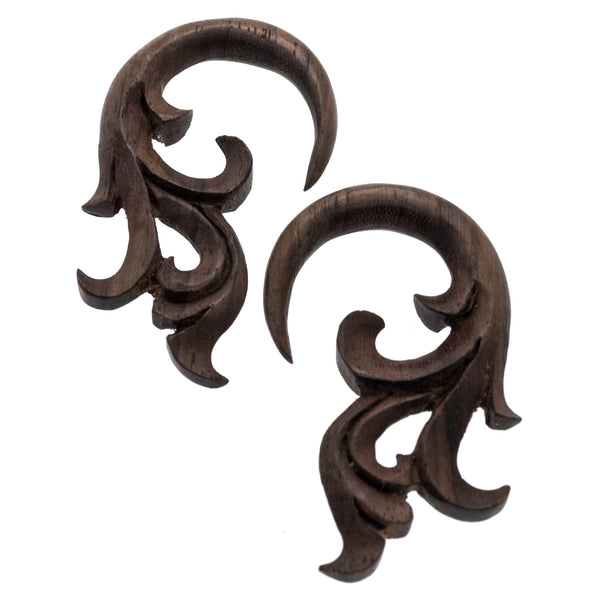 Sonora Wood Hangers Plugs (0g) #7432