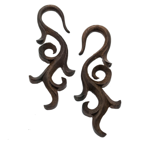 Pushti Wood Hangers Plugs (6g) #7435