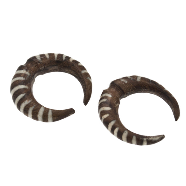 Tiger Pincher Wood Plugs (2g) #7456