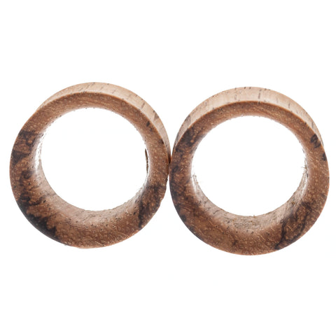"Olivewood Tunnel Plugs (1"") #7653"