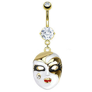 Masque Navel Ring