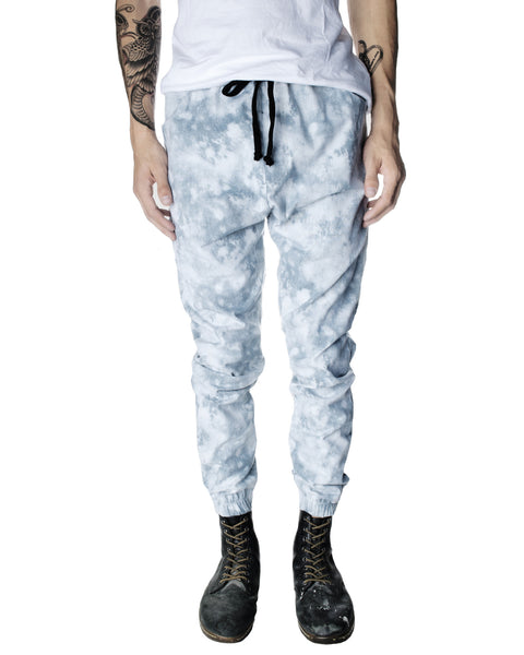 Light Acid Wash Joggers
