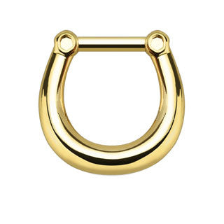 Plain Style Septum Clicker Ring