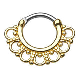 Tribal Fan Septum Clicker