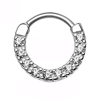 Ten Paved Gems Septum Clicker