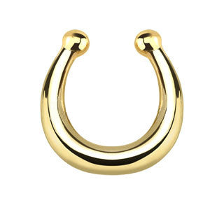 Plain Faux Septum Hanger