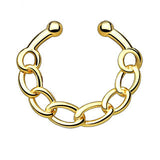 Chain IP Faux Septum Hanger