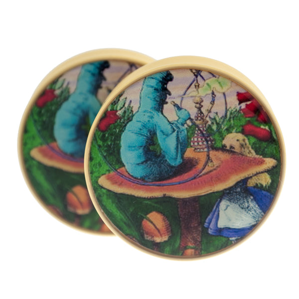Smoking Caterpillar Plugs (27mm-38mm)
