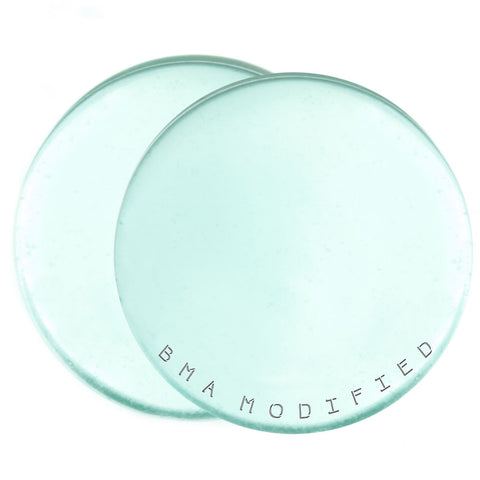 aqua glass plugs