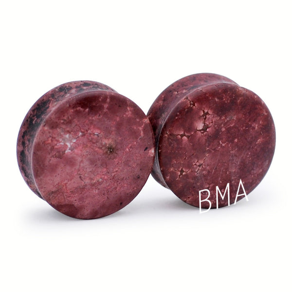 Brown Chohua Stone Plugs (3mm-25mm)