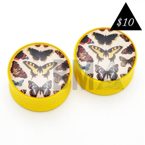 vintage butterfly plugs