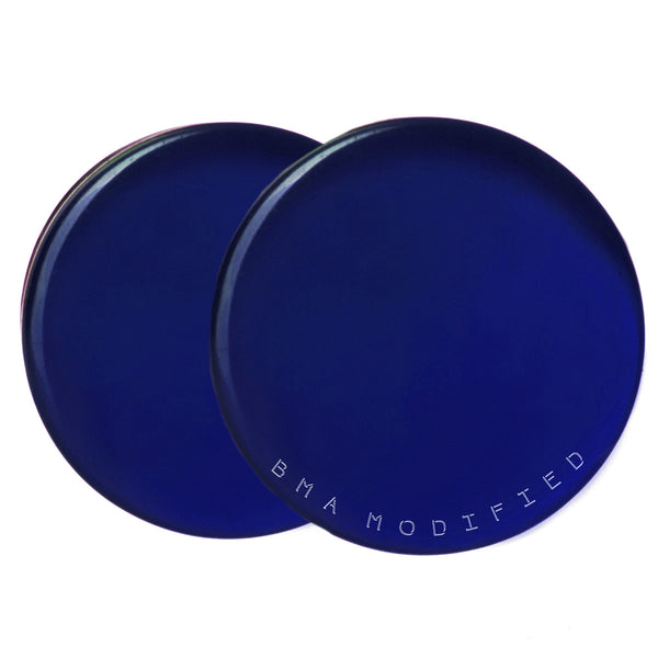 cobalt blue glass plugs