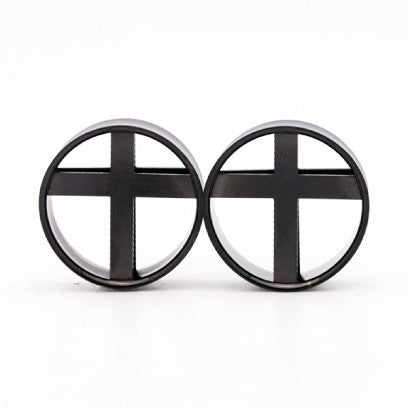 cross black plugs