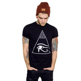 Crew T-Shirt // Eye of Horus Black
