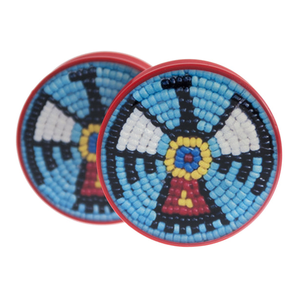 "American Indian Falcon Plugs 1 1/2"" (38mm)"
